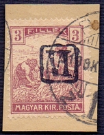 SRBIA - SHS - Occupation BARANYA  Ovpt.  VI  PORTO - RARE - Covers & Documents