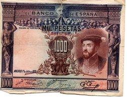 Espagne  Billets De  1000 Pesetas (  1925 ) - [ 2] 1931-1936 : Repubblica