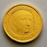 ITALIE 2013 - 2 EUROS COMMEMORATIVE- BOCCACCIO - PLAQUE OR - Italie