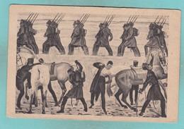 Old Post Card Of Ferd.Hodler,Auszug Der Jenenser Studenten 1813.. Switzerland,R66. - Other