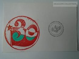 D161772   Commemorative - Hungary - Filatelista Vetélkedő  - Egervár Eger  1975 - Feuillets Souvenir