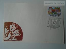 D161774   Commemorative - Hungary - Szeged V. Országos Úttörő Parlament  1974  Pioneer - Feuillets Souvenir