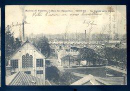 Cpa Du 10  Troyes Maison De Famille Rue Des Tauxelles -- Vue Générale Sur La Filature     AVRIL18-21 - Troyes