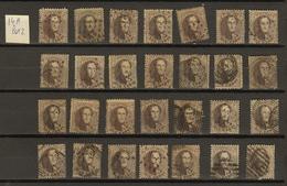 Belgie Belgique Ocb Nr: 14A Lot 2 (zie Scans) - 1863-1864 Medaglioni (13/16)