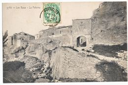 BOUCHES DU RHONE CP 1907 MAUSSANE TYPE 18 TARDIF SUR TIMBRE AU TYPE BLANC - Marcophilie (Lettres)