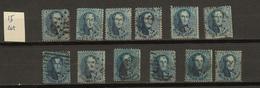 Belgie Belgique Ocb Nr: 15 (zie Scans) - 1863-1864 Medallions (13/16)