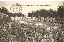 Royan -  Le Jardin Public Du Boulevard Botton - Royan