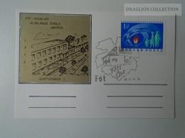 D161781  Commemorative - Hungary - FÓT- Kisalag Általános Iskola 1976 - Feuillets Souvenir