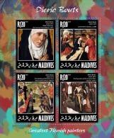 MALDIVES 2014 - Abraham And Melchizedek - YT 4425-8; CV=15 € - Jewish
