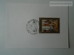 D161785   Commemorative - Hungary - PÉCS Orvosi Egyetemi Napok  1974  Bélyegbemutató Meghívó - Feuillets Souvenir