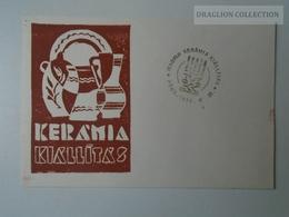 D161786   Commemorative - Hungary - PÉCS Kerámia Kiállítás  1974 - Feuillets Souvenir