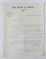 1934 MEAUX ( SEINE ET MARNE ) - CLUB SPORTIF DE MEAUX - SECTION FOOTBALL - Sports & Tourisme
