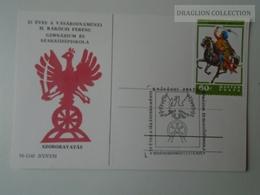 D161789   Commemorative - Hungary -VÁSÁROSNAMÉNY RÁkóczi Ferenc Gimnázium -Szoboravatás  1978 - Feuillets Souvenir