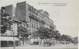 Le Boulevard Lefebvre à La Porte Brancion - Arrondissement: 15