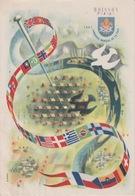 1/11/259  -  C. P. M.   JAMBORÉE  MONDIAL  DE  LA  PAIX  - MOISSON  FRANCE 1947  ( Avec Tampon Du Jour ) - Scouting