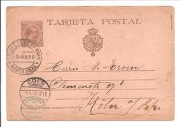 T.P. Barcelona>Allemagne 3.6.98 - 1850-1931