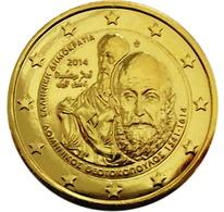 GRECE 2014 - 2 EUROS COMMEMORATIVE - TEOTOKOUPOLOS - PLAQUE OR - Grèce