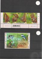 SINGAPOUR Faune Années 2000/01 N° 966/69**-1013/16** - Singapour (1959-...)