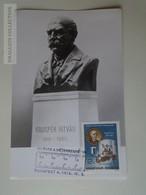 D161793   Commemorative - Maximum Card - Hungary -100 éves A Méter Rendszer - 1976 - Feuillets Souvenir