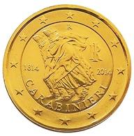 ITALIE 2014 - 2 EUROS COMMEMORATIVE - CARABINIERI - PLAQUE OR - Italie