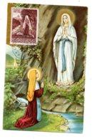 Poste Vaticane - Lourdes-Ste Bernadette -voir état - Christianity