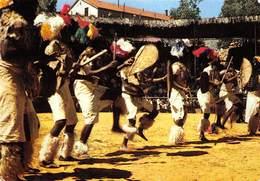 PIE-Arg-18-6853 : AFRIQUE DU SUD.  DANSES FOLKLORIQUES ZOULOU. PUBLICITE MEDICAMENTS MARINOL. - South Africa