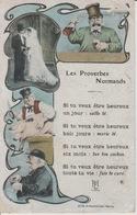 18/11/266 -   LES  PROVERBES  NORMANDS - Humour