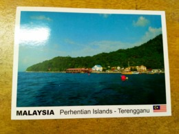 Malaysia Perhentian Islands Terengganu Trengganu Fish Swim Coral Bay Jetty Beach Sunset Perhentian Kecil Village - Malaysia
