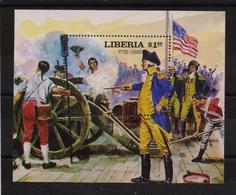 Liberia 1982, War, Miblock 102, MNH. - Liberia
