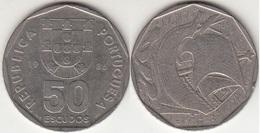 Portogallo 50 Escudos 1986 KM#636 - Used - Portugal