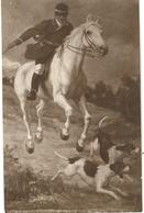 Salon 1914 Societe Des Artistes Francais Me L C De Liniers Piqueur Ralliant Des Chiens A La Voie - Evénements