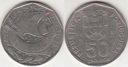 Portogallo 50 Escudos 1987 KM#636 - Used - Portogallo