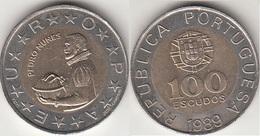 Portogallo 100 Escudos 1989 KM#645.1 - Used - Portogallo