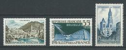 FRANCE 1958 . N°s 1150, 1156 Et 1165 . Neufs ** (MNH) - France