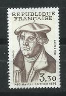 Francia. 1983. 500º Aniversario Del Nacimiento De Martin Luther - Religions
