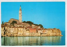 C.P.  PICCOLA   ROVINJ   (FRANCOBOLLI NON  TIMBRATI)     2  SCAN    (VIAGGIATA) - Jugoslavia
