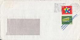 Germany Cover Nürnberg 23-6-1969 With TIGER In The Postmark - [7] République Fédérale