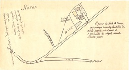 Dépt 77 - VAUDOY - Dossier Reconstruction, Suite ACCIDENT AVION ALLEMAND 30 Juin 1944 Guerre WW2 - FERME Du LUAT, SIVERT - France