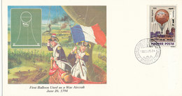 Hungary FDC 4-5-1983 Balloon With Cachet - FDC