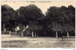 JOIGNY  La Promenade Du Mail. Carte écrite En 1910. TBE  2 Scans - Joigny