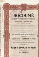 CONGO-SOCOUME. Sté Commeriale D'Outre-Mer - Other