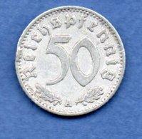 Allemagne -  50 Reichspfennig  1940 A  -  Km # 96 -    état  TTB - [ 4] 1933-1945 : Troisième Reich