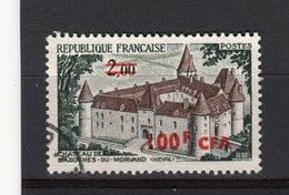 REUNION - Y&T N° 417° - Château De Bazoches-du-Morvand - Réunion (1852-1975)