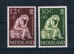 Niederlande 1960 Flüchtlingsfrau Mi.Nr. 744/45 Kpl. Satz ** - 1949-1980 (Juliana)