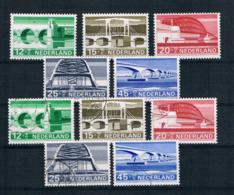 Niederlande 1968 Brücken Mi.Nr. 894/98 Kpl. Satz ** + Gest. - 1949-1980 (Juliana)
