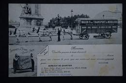 PETITS METIERS PARIS Attelage Wagon Pour Transport Moboliers LOYNET - Petits Métiers à Paris