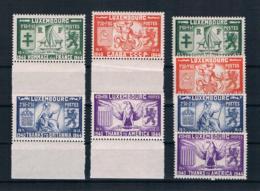 Luxemburg 1945 Mi.Nr. 343/46 Kpl. Satz ** 2 Mal - Luxembourg