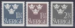 ZWEDEN - Michel - 1962 - Nr 492/94 - MNH** - Suède