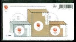 NEDERLAND * NVPH 3430 * OLYMPISCHE SPELEN * OLYMPIC GAMES * BLOK BLOC * BLOCK *  POSTFRIS GESTEMPELD - Periode 2013-... (Willem-Alexander)