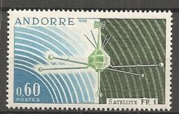 ANDORRE - Yv. N°  177  ** MNH   Satelitte   Cote  2 Euro  TBE - Neufs